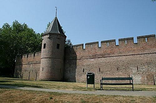 Amersfoort stadsmuur voorzijde