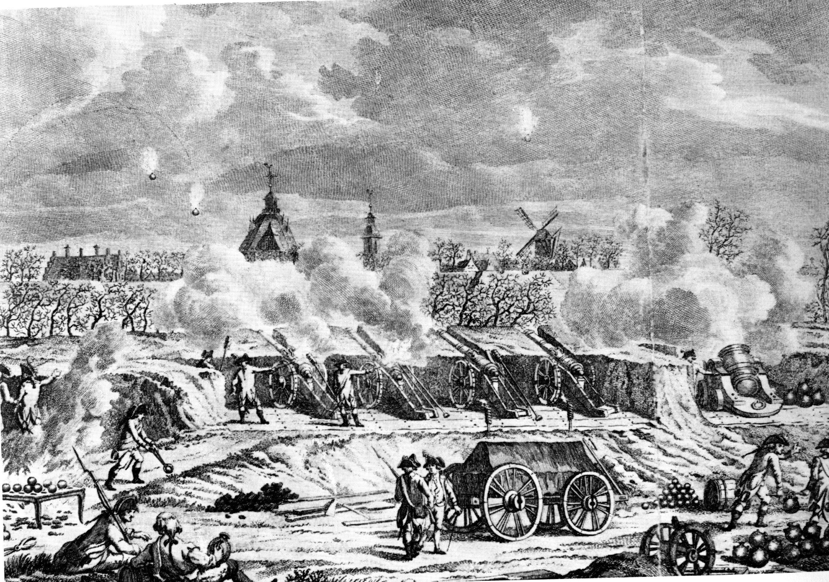 Beleg Willemstad Fransen 1793