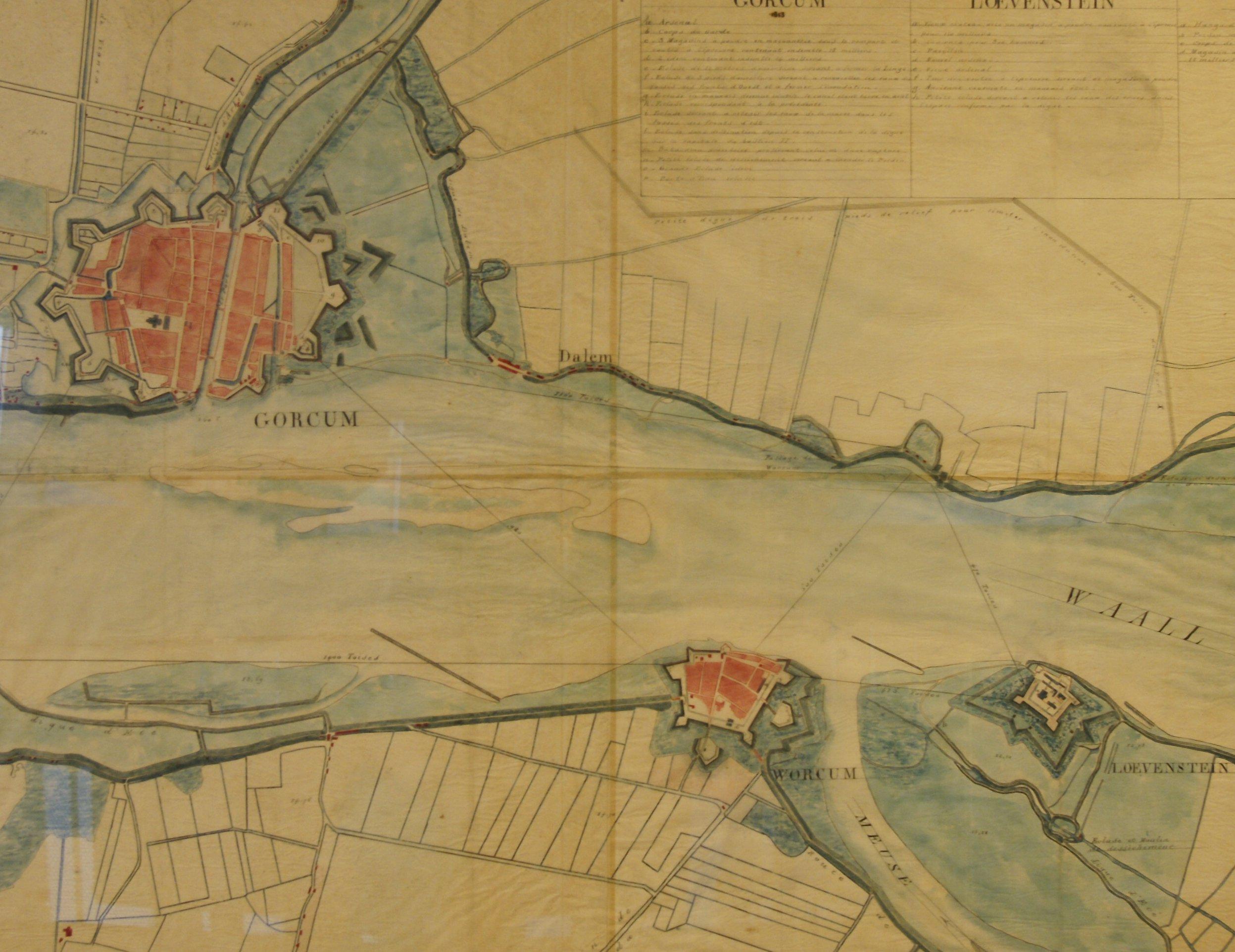 De vestingdriehoek 1813