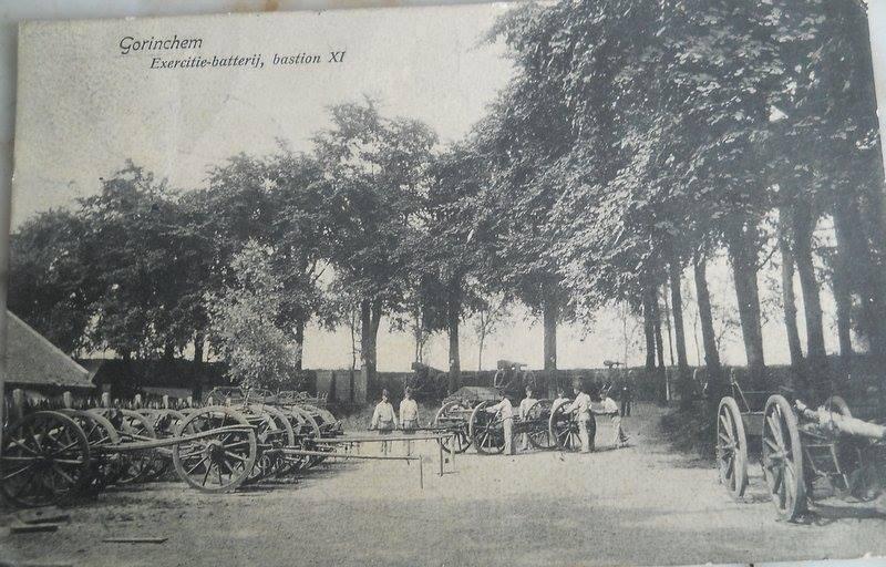Gorinchem exersitiebatterij bastion 11