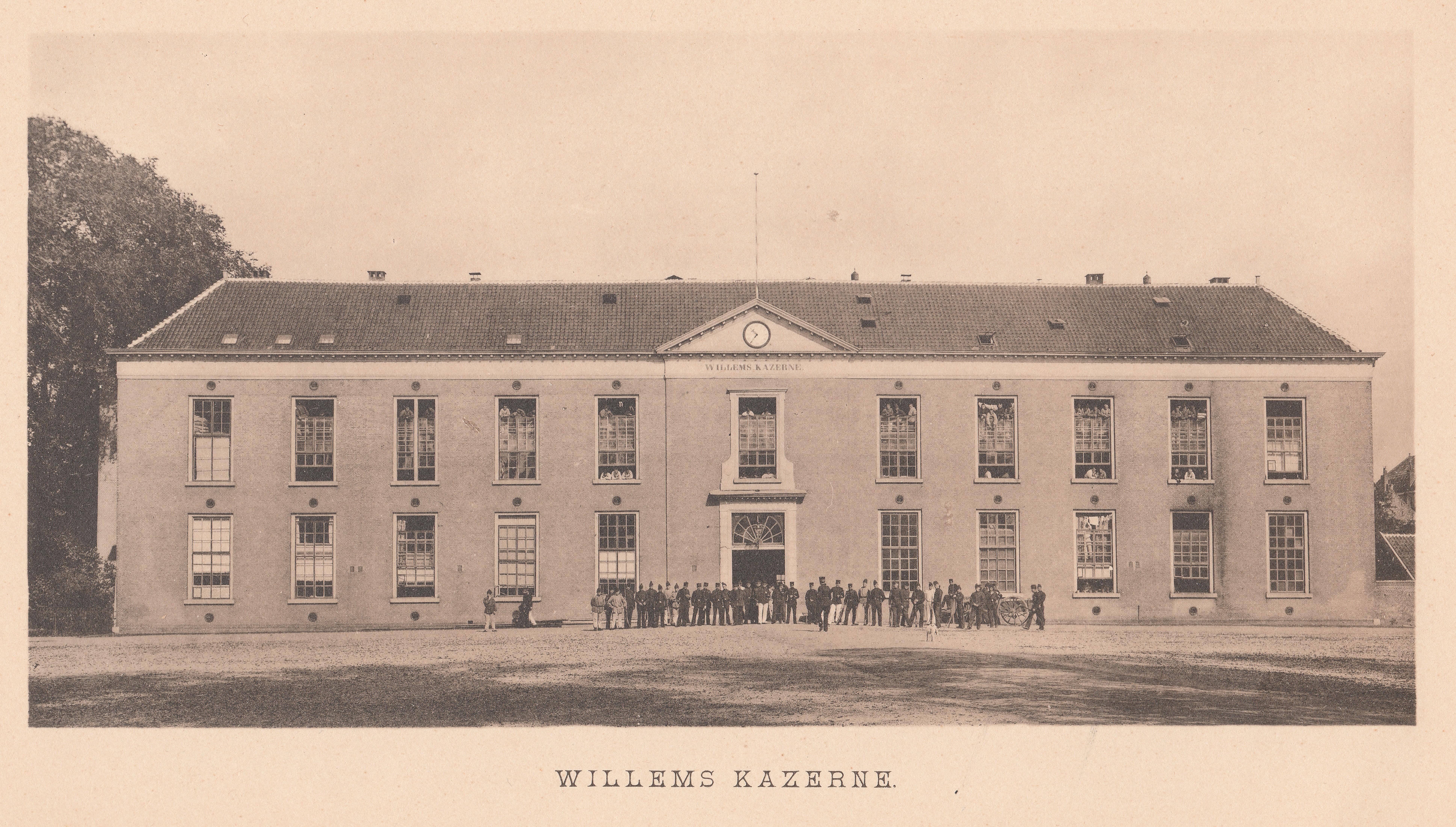 Gorinchem in beeld - J.H. Knierum - 04 - Willemskazerne