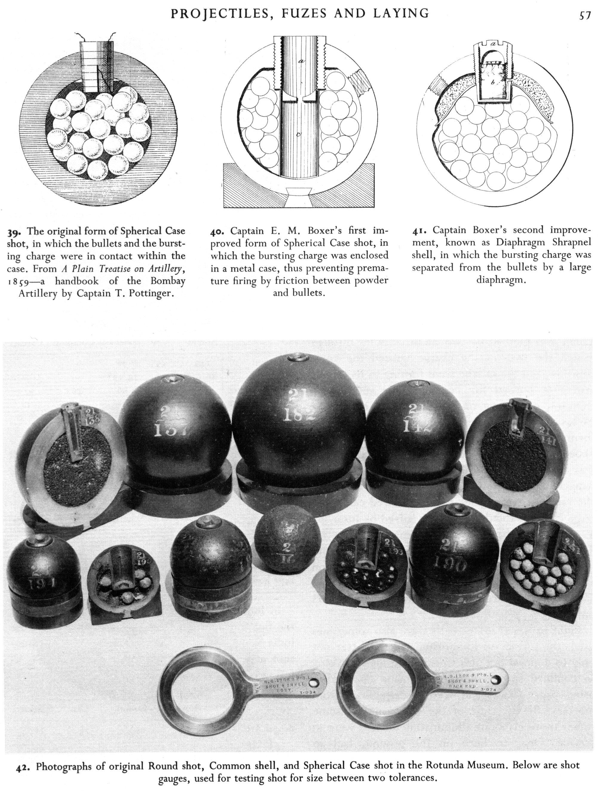 Granaten begin 19de eeuw