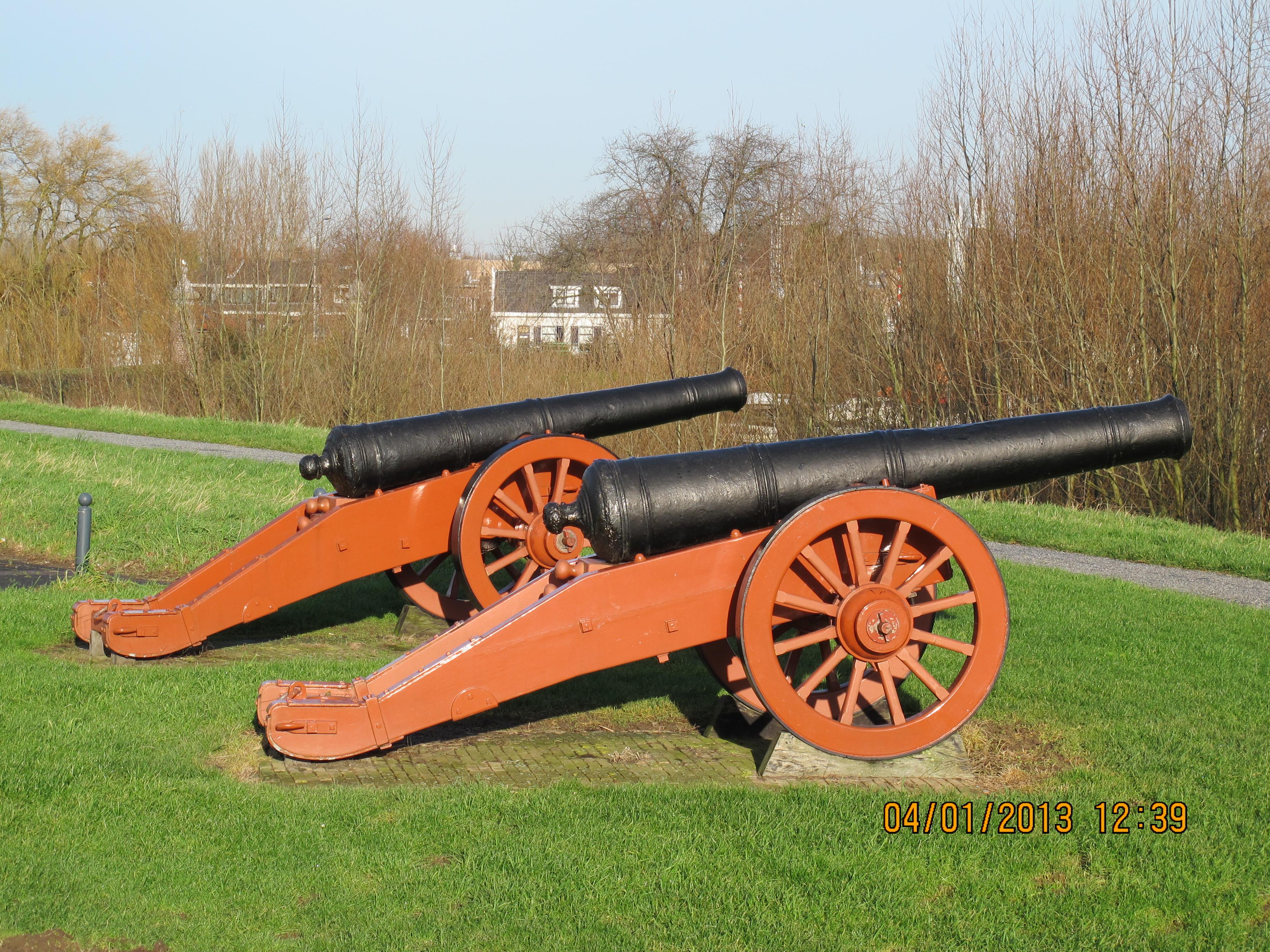 Kanonnen bastion 1