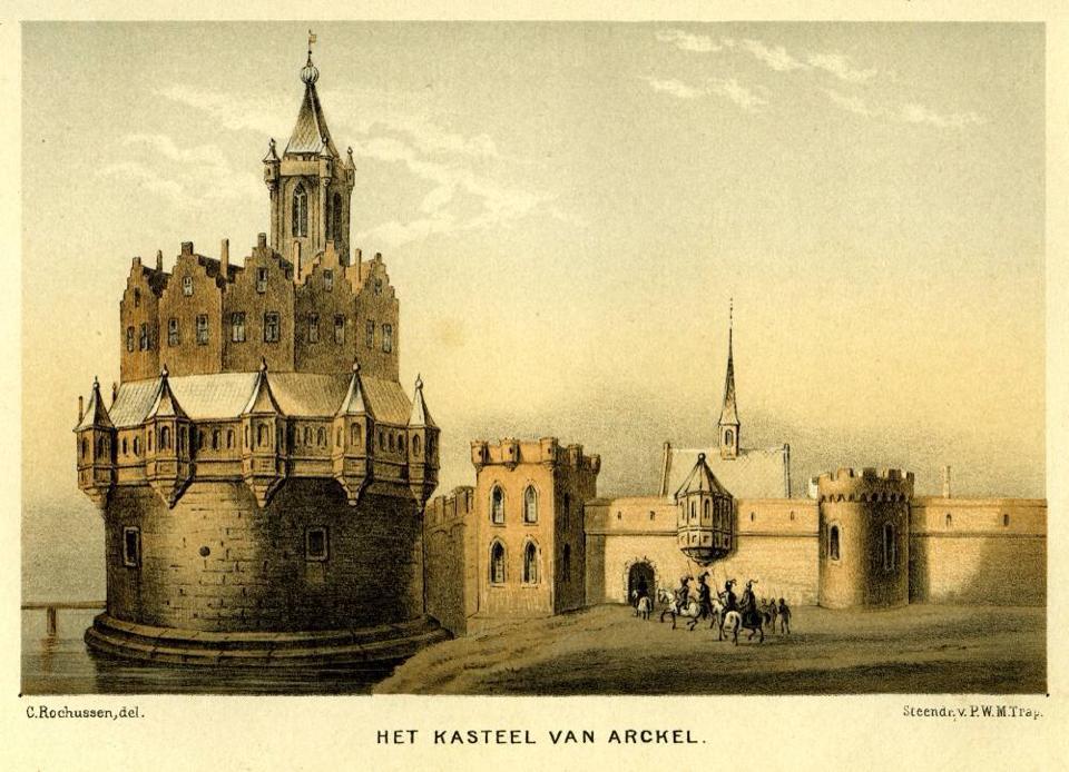 Kasteel de Blauwe Toren als Van Arckel