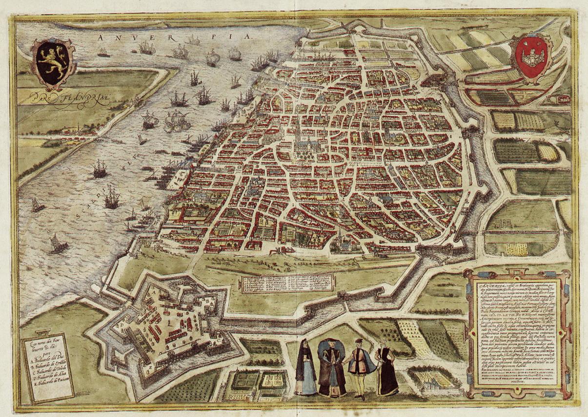 Braun_Antwerpen_HAAB Spaanse omwalling